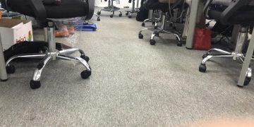 Quy trình giặt thảm văn phòng như thế nào?