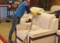 Cách giặt ghế sofa da, ghế sofa vải nhanh chóng